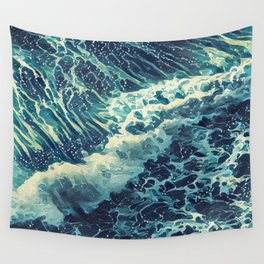 Every tide hath its ebb Wall Tapestry