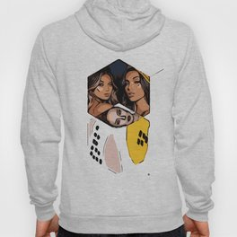 Collage Glamour Hoody