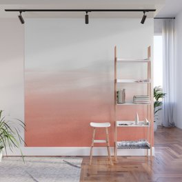 Blush Wash Wall Mural