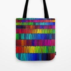 Prismatic Rainbow (Reverse) Tote Bag