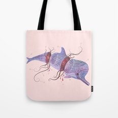 The Universe is a Dolphin Tote Bag