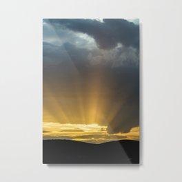 Convergencia Metal Print