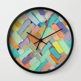 Peachy Internodes Wall Clock