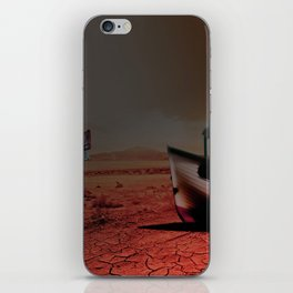 Deseert Boat iPhone Skin