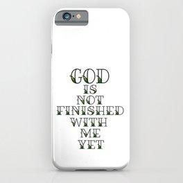 Unfinished iPhone Case