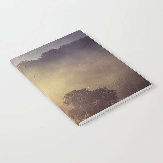 Fog Glow Notebook