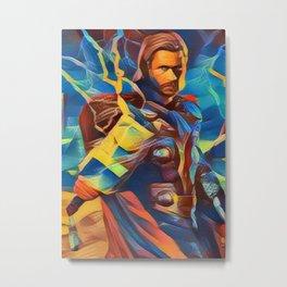 God of Thunder Metal Print