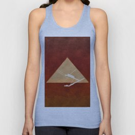Inside the Great Pyramid of Gi Unisex Tank Top