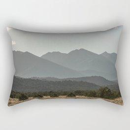Rocky Mountain Haze Rectangular Pillow