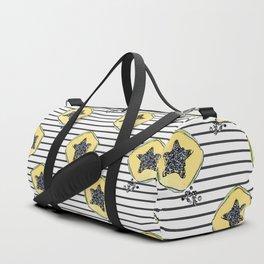 papaya pattern Duffle Bag