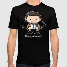 The Guardian  2X-LARGE Mens Fitted Tee Black