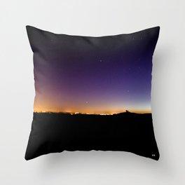 Ambient Boston Throw Pillow