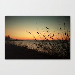 Dusk Down the Shore Canvas Print
