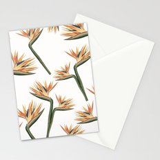 Birds of Paradise Flowers 2 Stationery Cards
