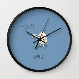 Lamblet Wall Clock