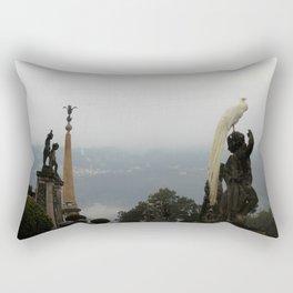 Statue Garden Rectangular Pillow
