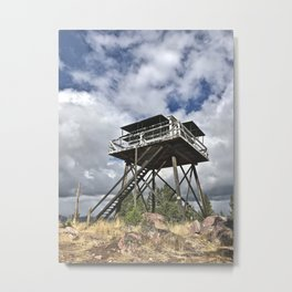 Fire Tower II Metal Print