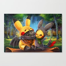 Cosplay Buddies Canvas Print
