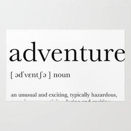 Adventure Definition Rug
