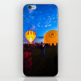Albuquerque International Balloon Fiesta Liftoff iPhone Skin