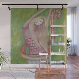 Dance with the Wind by Lu Wall Mural