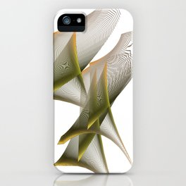 Mathematical Portrait of a Dinosaur iPhone Case