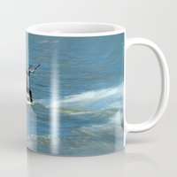 surfer Mugs featuring Surfer by Laake-Photos