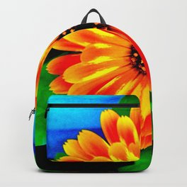 Orange Marigold Backpack