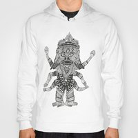 yeti Hoodies featuring Yeti by Guice Mann