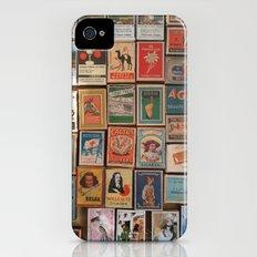 Marvelous Matchboxes iPhone (4, 4s) Slim Case