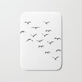 Bird Native birds songbird blackbird gift Bath Mat