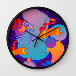 The Poodle Wall Clock