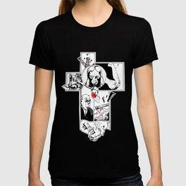 Comics cross T-shirt