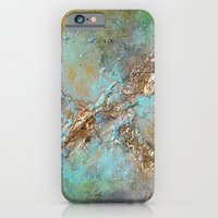 Gold Abstract Slim Case iPhone 6s