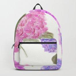 seamless   pattern of hydrangea flowers Backpack