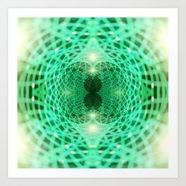 Geometry Dreams : Eternity Art Print