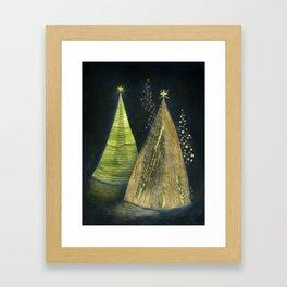 Chritmas Trees Framed Art Print