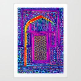 Pop Window Art Print