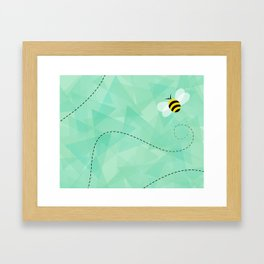 BUZZ OFF Framed Art Print
