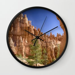 Hoodoos in the Canyon Wall Clock
