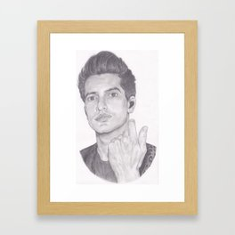 brendon urie (without background) Framed Art Print