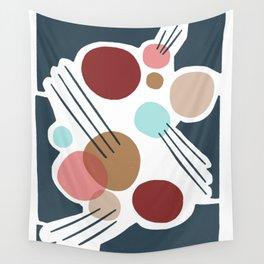 June Midnight Wall Tapestry