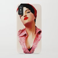 rockabilly iPhone & iPod Cases featuring Rockabilly Love by SoulDeep