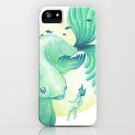 Big Fish iPhone Case
