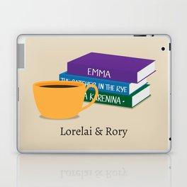 Lorelai & Rory Laptop & iPad Skin