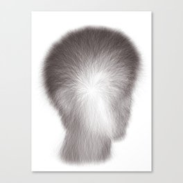 Algorithmic Portrait: Calvin Canvas Print