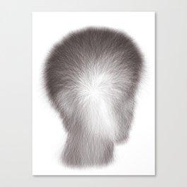 Algorithmic Portrait: Calvin Canvas Print