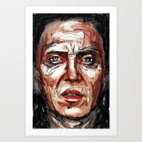 christopher walken Art Prints featuring Walken by Dnzsea