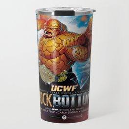 UCWF: Unlimited Class Wrestling Federation PPV Poster Travel Mug