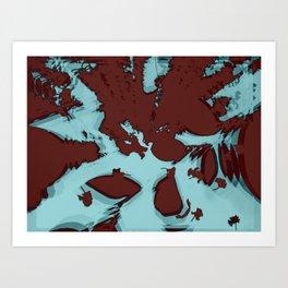 2020 Fall/Winter 16 Aquamarine Art Print